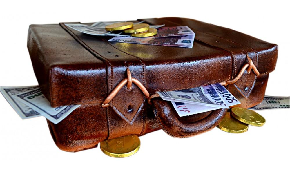 Чемодан, полный денег