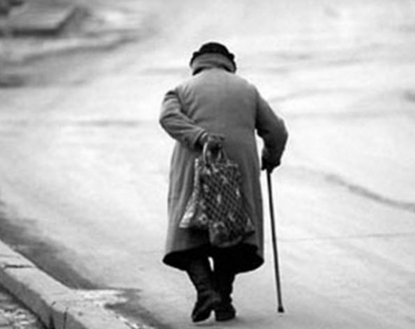 Слепая бабушка