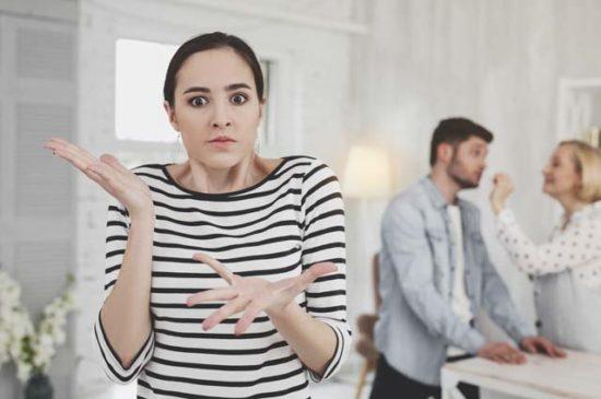 Девушка в шоке от поведения свекрови