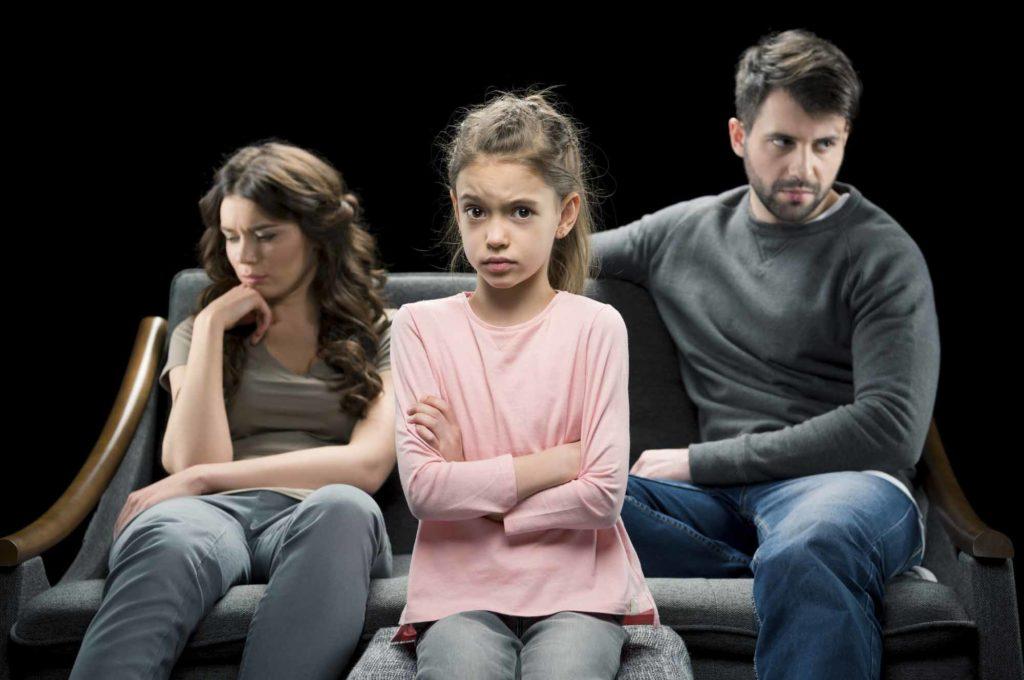 Девочка конфликт с родителями
