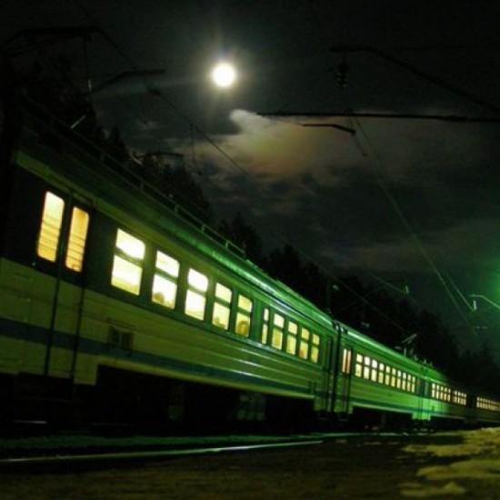 Дорога поездом