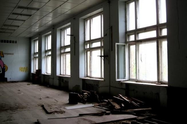 Пустая школа