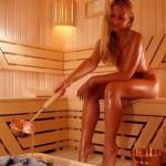 Пришла из бани…