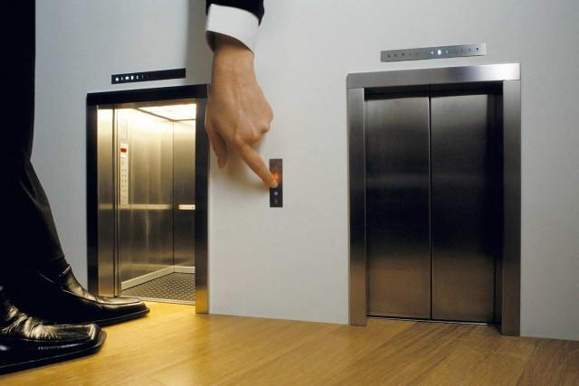 Лифт подвел