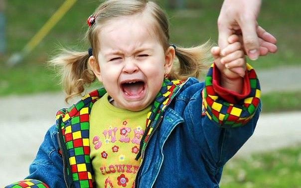 Как унять капризного ребенка