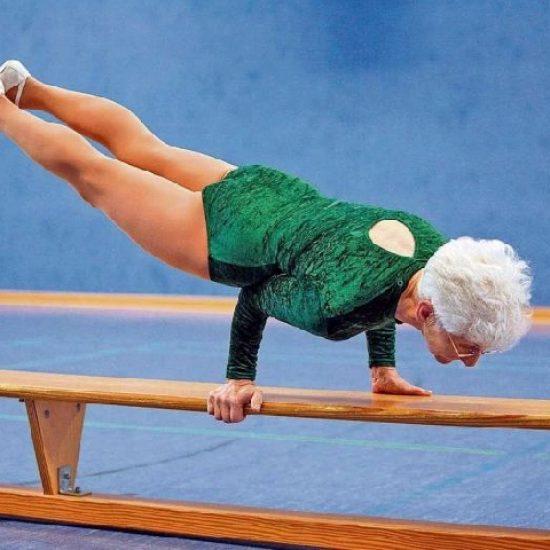 Бабушка-пропеллер