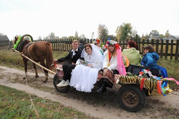 Свадьбы детства моего