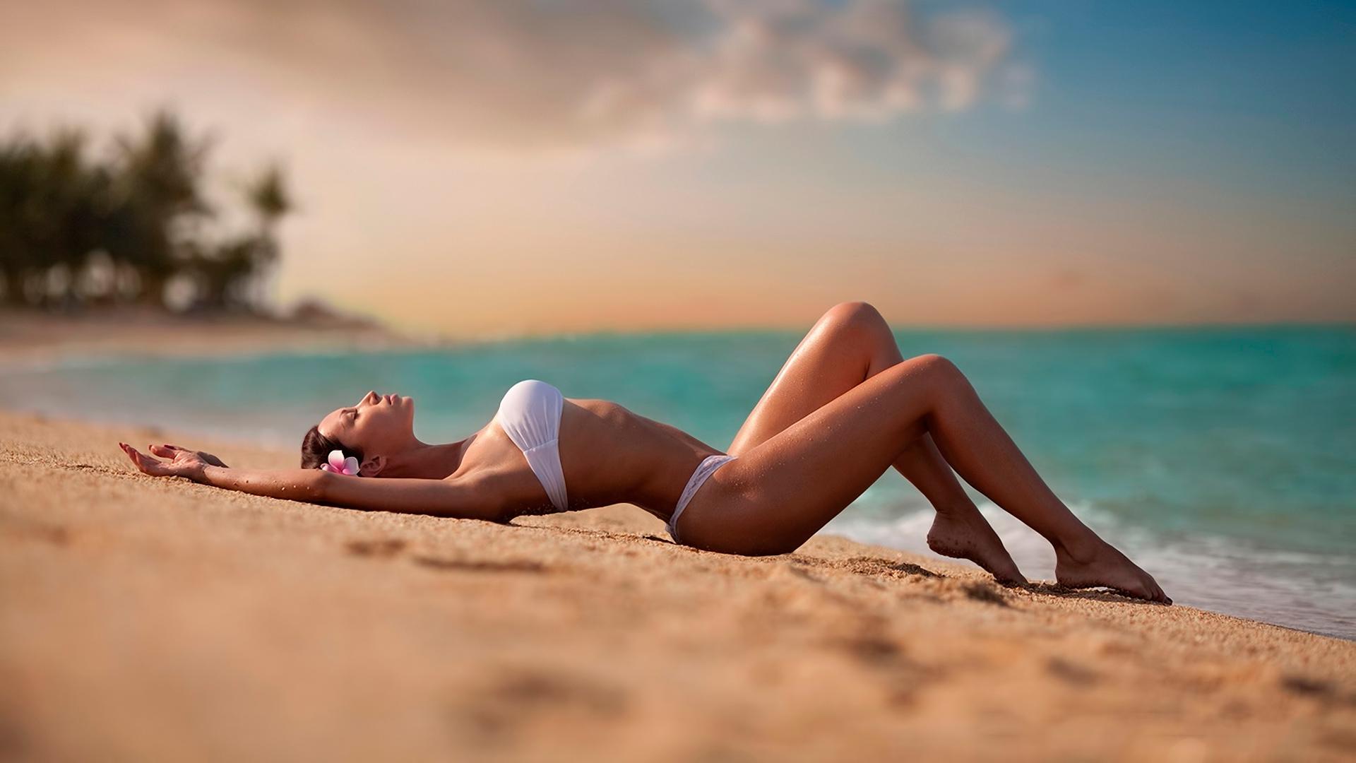 Пляжный онанизм