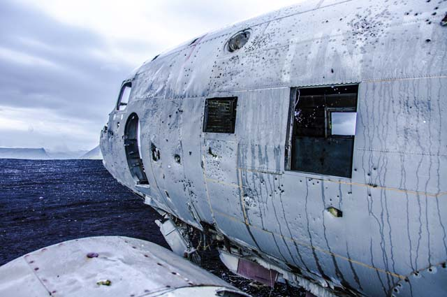 Разбившейся самолёт