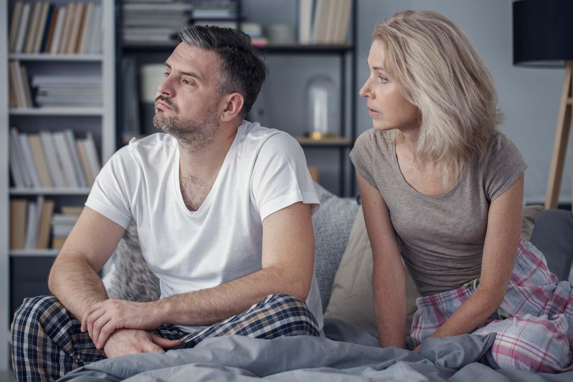 Ссора между женщиной и мужчиной