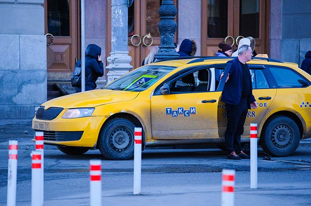 Такси на вокзале