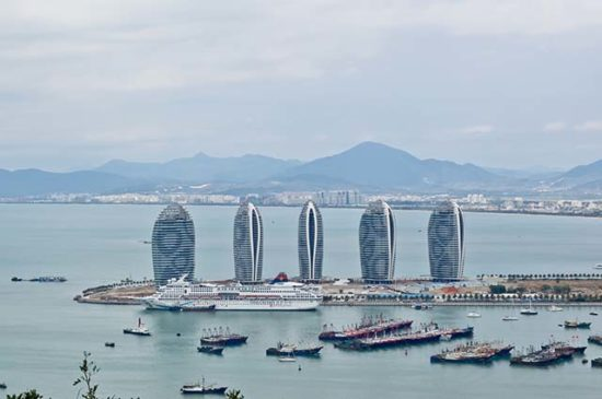 Остров Санья Китай