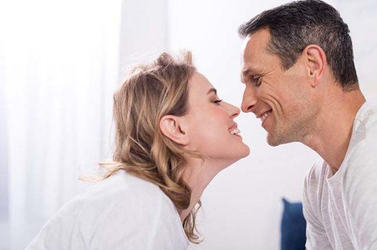 Счастливые муж и жена