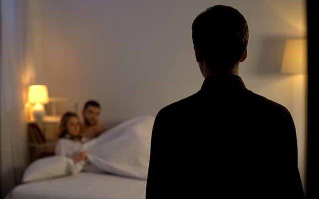 Застукали в постели