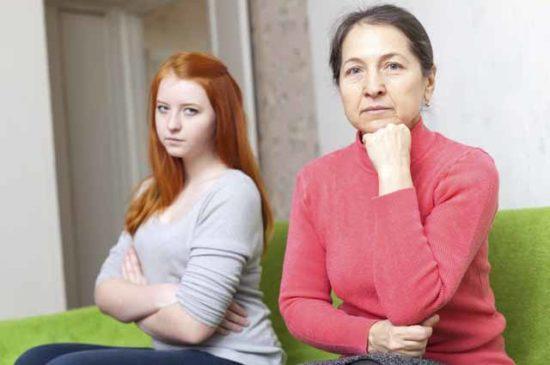 Конфликт мамы и взрослой дочери