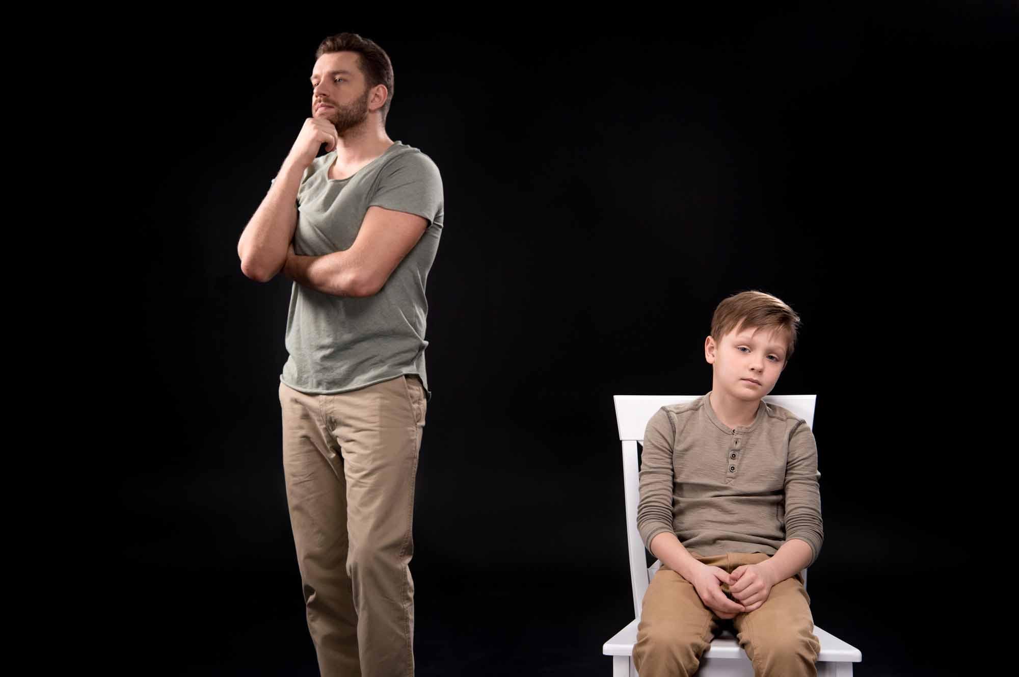 Конфликт отца с сыном