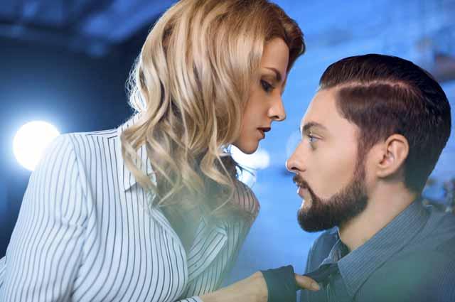 Флирт мужчины и женщины
