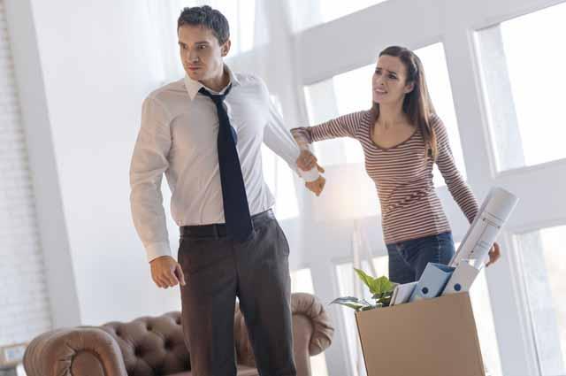 Ссора мужчина и женщина